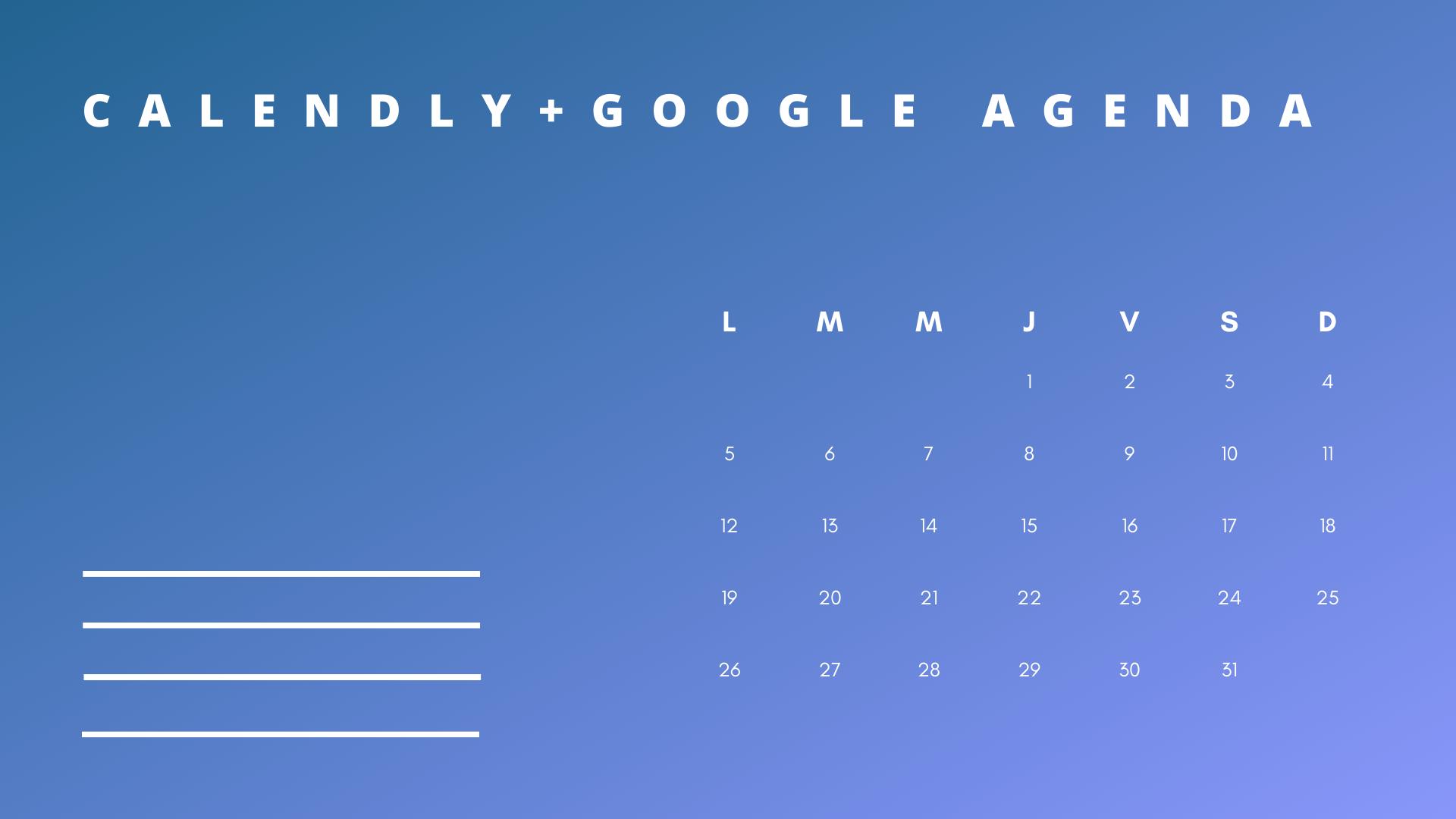 Calendly et google agenda